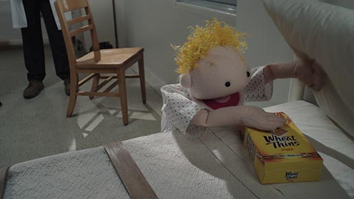 Wheat Thins Puppet