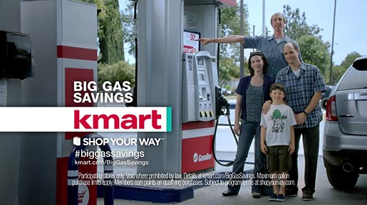 KMart Big Gas Savings