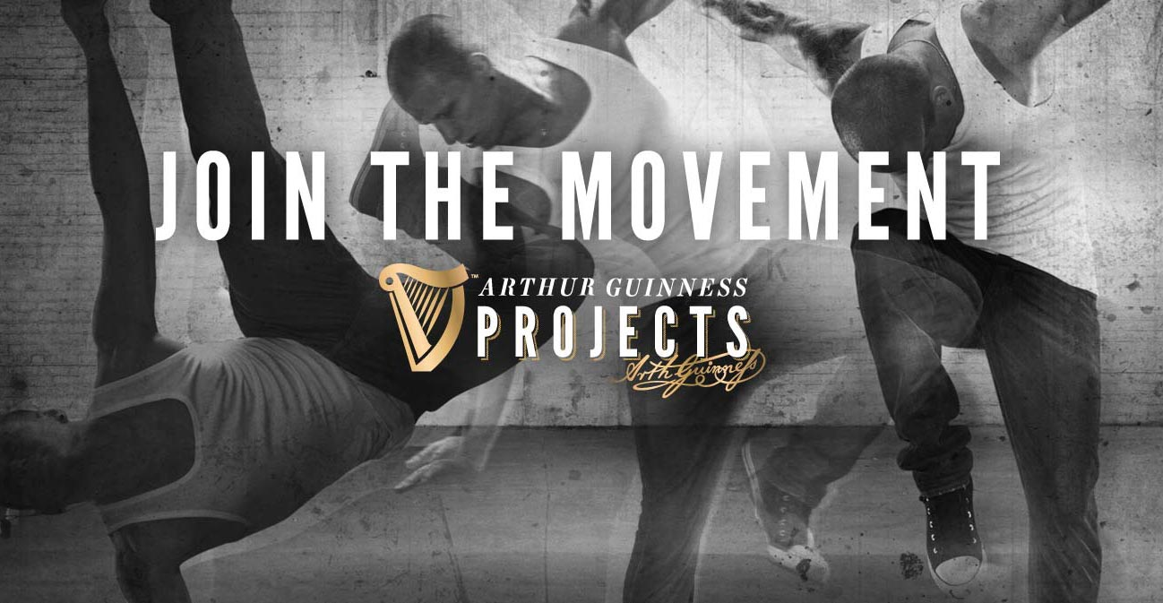 Guinness Projects Join The Movement