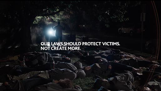 Our Laws should protect victims not create more