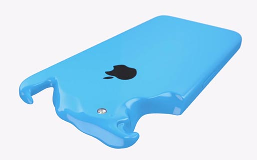 iPhone 5C Blue Plastic Perfected