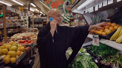 iPhone 5C Colorful Monk in Fruit Section