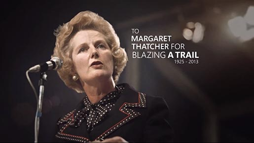 Bing Margaret Thatcher
