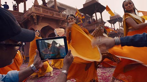iPad Bollywood Film