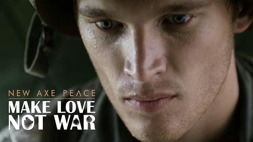New Axe Peace Make Love Not War