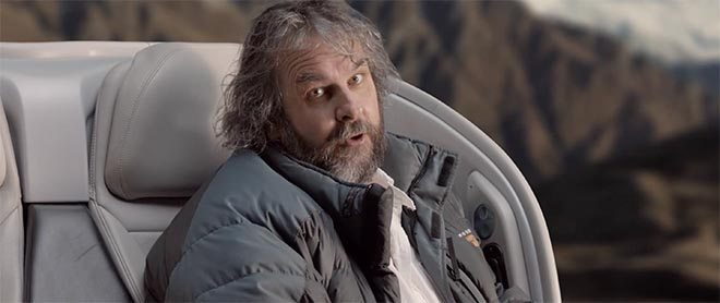 Air New Zealand Hobbit Safety Film with Peter Jackson