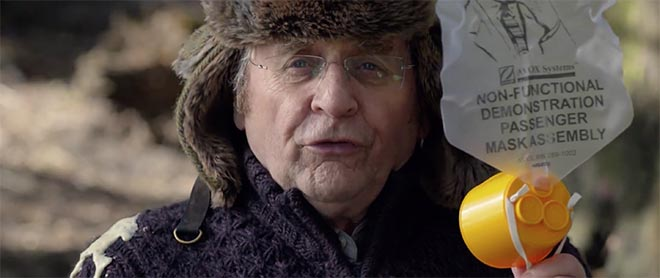Air New Zealand Hobbit Safety Film Sylvester McCoy