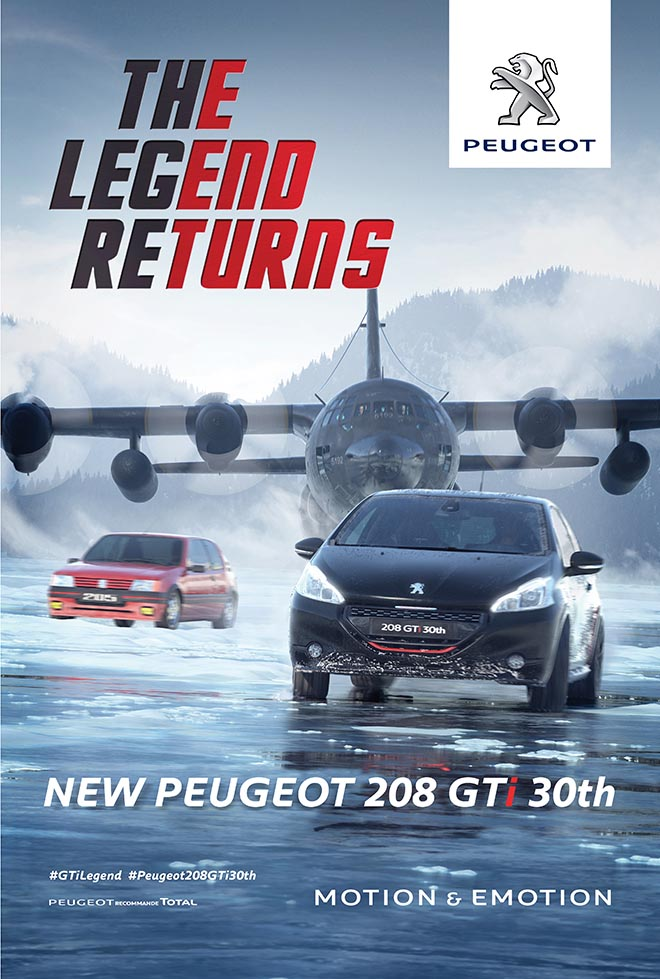 Peugeot Legend Returns Poster