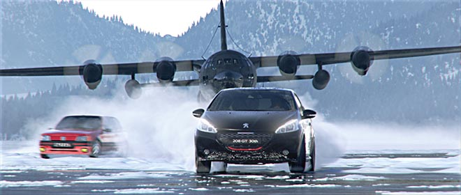 Peugeot Legend Returns with Plane
