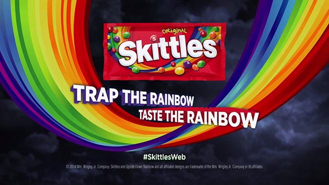 Skittles Trap The Rainbow