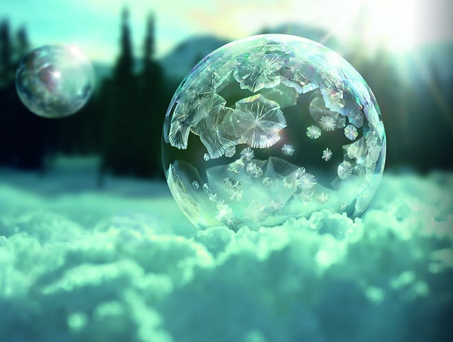 Sony 4K Ice Bubble