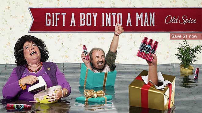 Old Spice Gift a Boy Into a Man