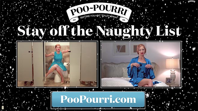 Poo Pourri Naughty List