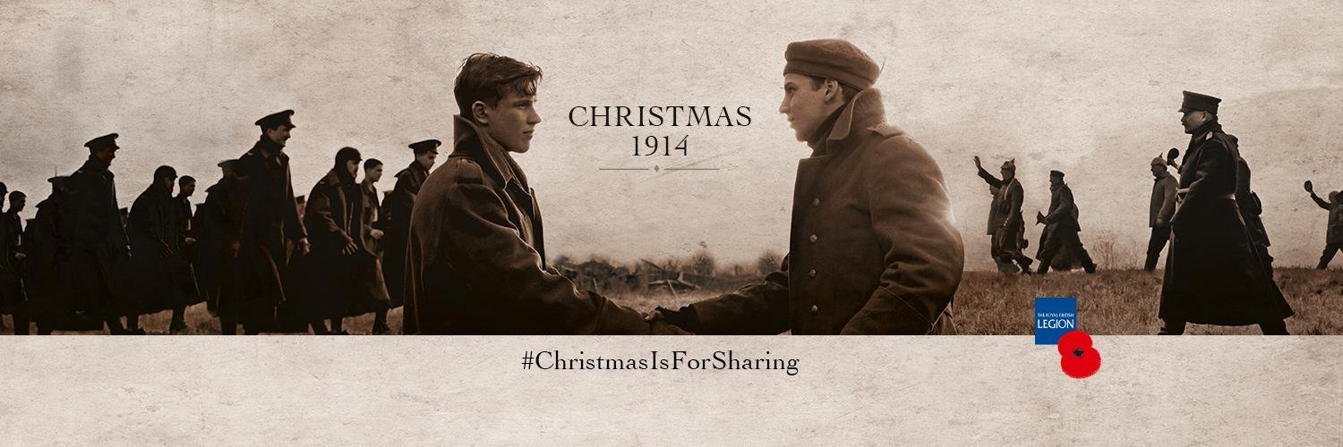 Sainsbury S Christmas Is For Sharing In 1914 The