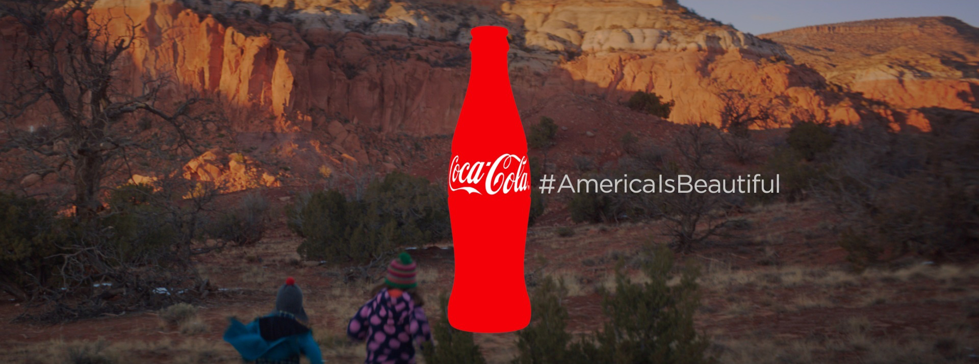 Coca Cola for Beautiful Multilingual America The  : cocacolaitsbeautiful1 from theinspirationroom.com size 1920 x 714 jpeg 683kB
