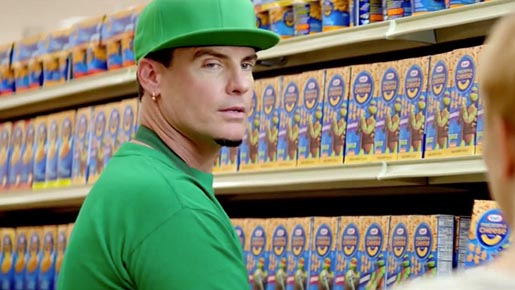 Vanilla Ice in Kraft Macaroni Cheese ad