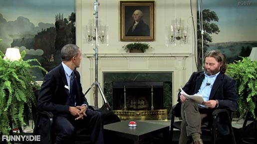 Barack Obama in Between Two Ferns