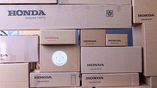 Honda Genuine Parts Boxes
