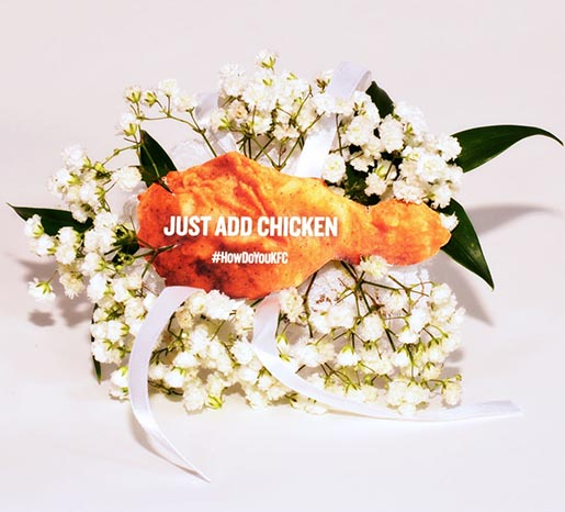 KFC Chicken Corsage - Just Add Chicken