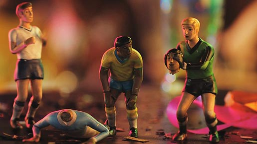 BBC FIFA World Cup Figurines