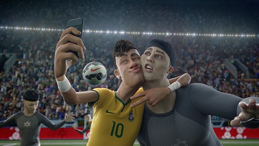 Nike Football Last Game - Neymar Selfie