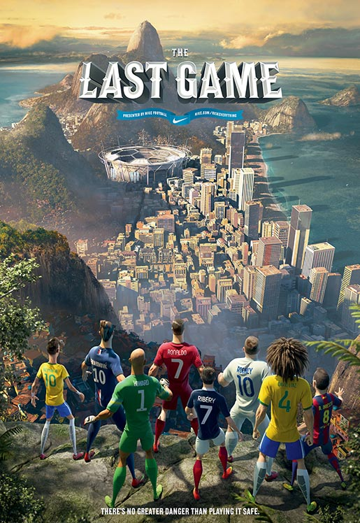 Nike Football Last Game - Poster