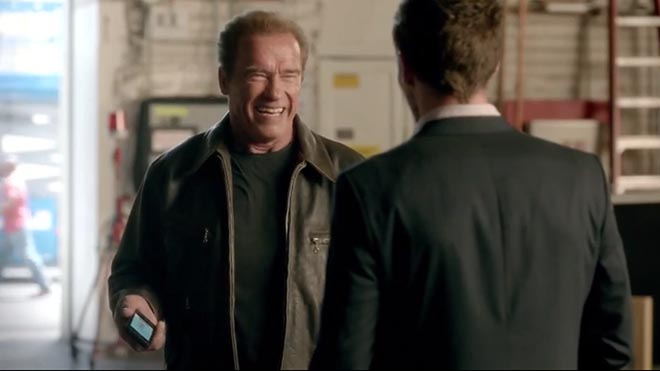 Arnold Schwarzenegger Real Estate ad