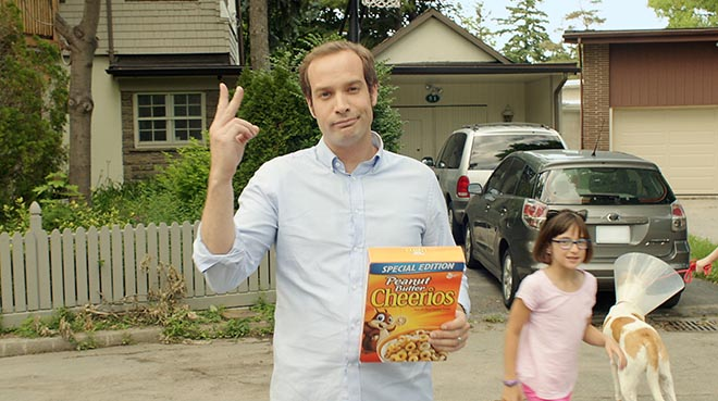 Cheerios Dad