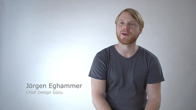 Jorgen Eghammer in IKEA BookBook spoof of Apple advertising