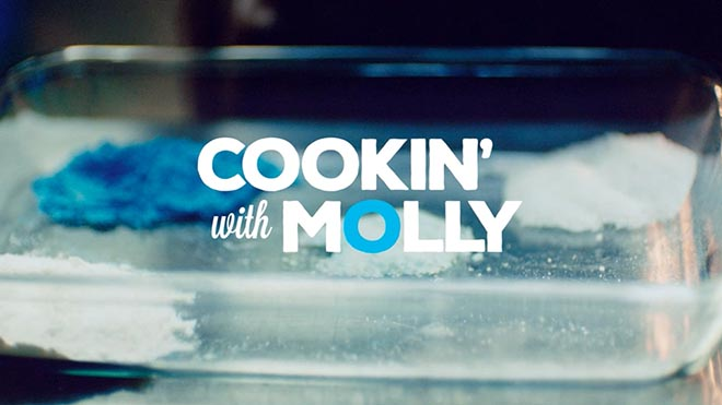 Cooking with Molly show