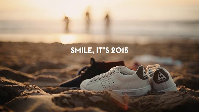 Le Coq Sportif Smile It's 2015 - Smile