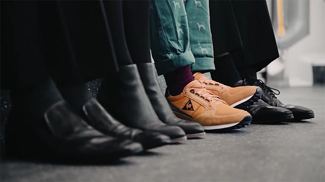 Le Coq Sportif Smile It's 2015 - Train