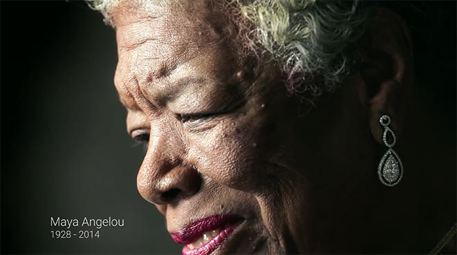 Maya Angelou 1928 to 2014 - Google 2014