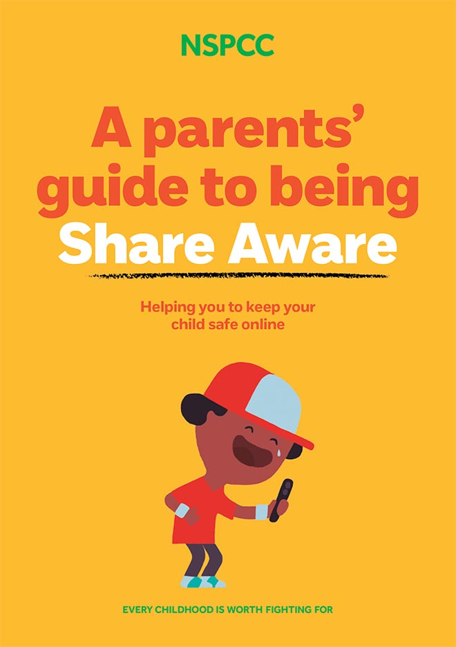 NSPCC Share Aware booklet cover