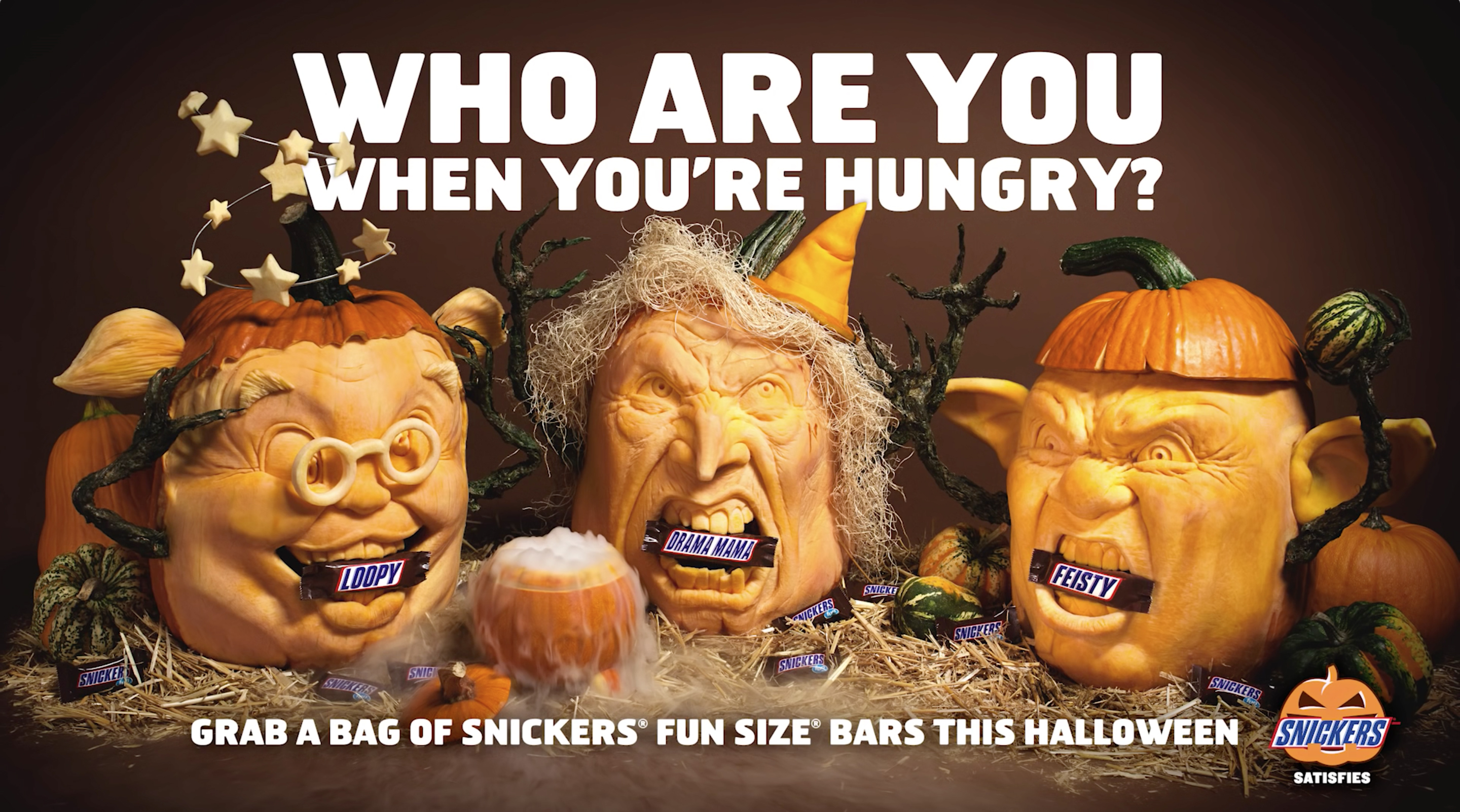 snickers hungry for halloween - the inspiration room