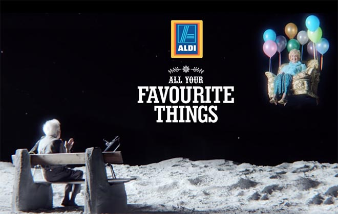 Aldi Man on the Moon All Your Favourite Things
