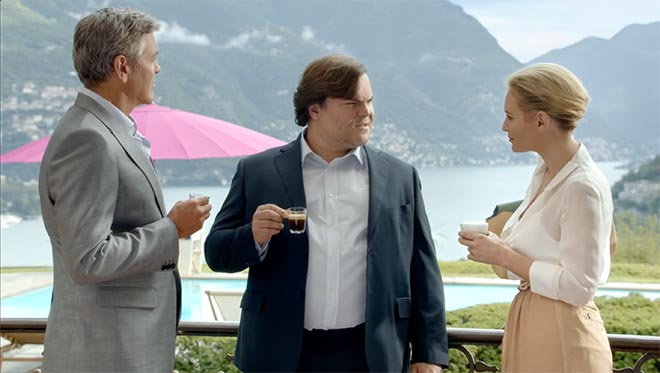Nespresso what else with jack black the inspiration room - George clooney what else ...