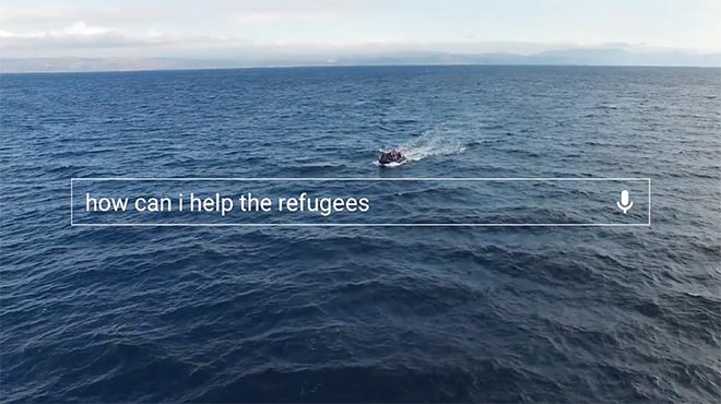 Google Year in Search 2015 - How can I help the refugees?