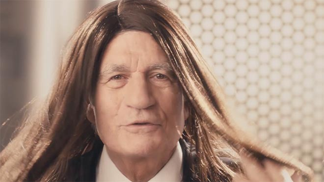 Publicis Skippable Wishes Maurice Levy shampoo commercial