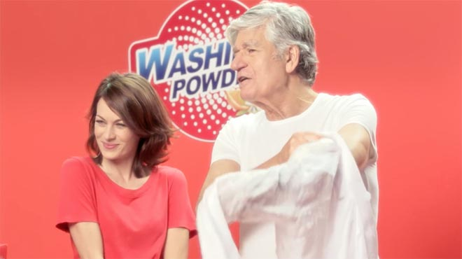 Publicis Skippable Wishes Maurice Levy washing powder commercial