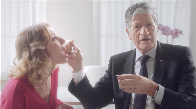 Publicis Skippable Wishes Maurice Levy yogurt commercial