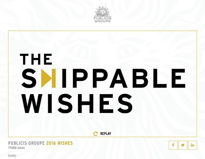 Publicis Skippable Wishes