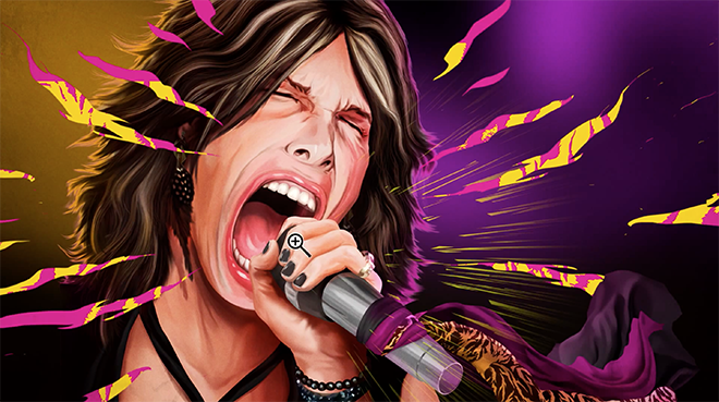 Adobe Dream On Photoshop commercial with Aerosmith