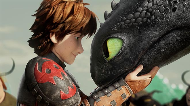 Adobe Dream On Photoshop commercial with How To Train A Dragon