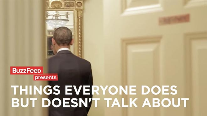 Barack Obama in Buzzfeed Things Everyone Does But Doesn't Talk About