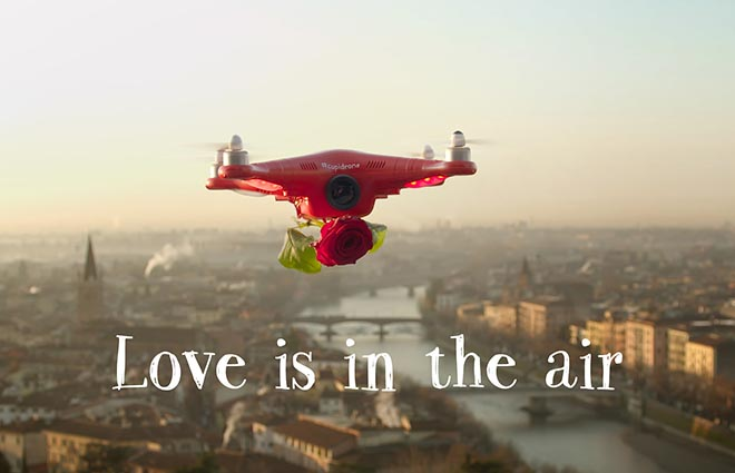 Cupidrone Love Is In The Air