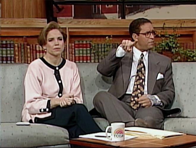 BMW Katie Couric and Bryant Gumbel