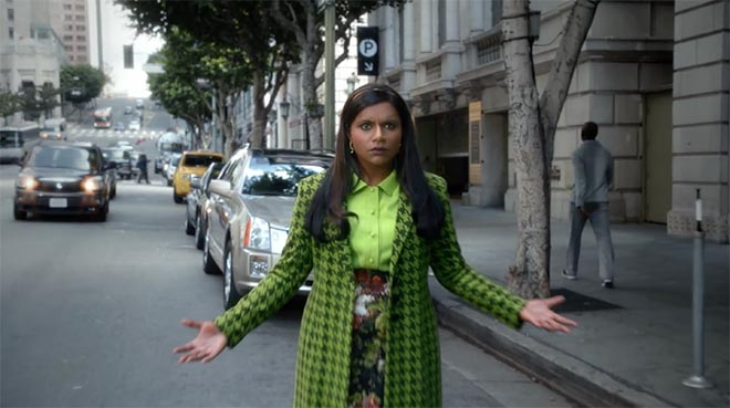 Nationwide Invisible Mindy Kaling on street
