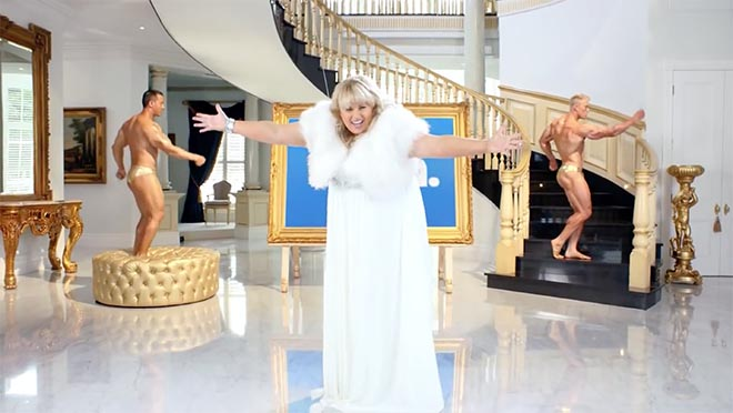 Rebel Wilson in Stan commercial