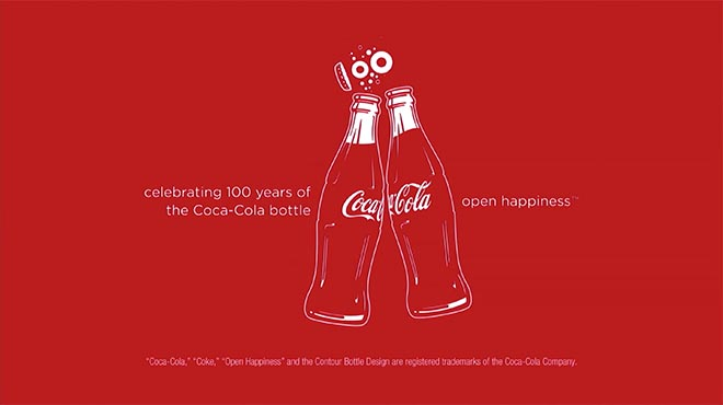 Celebrating 100 Years of the Coca Cola Bottle